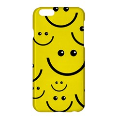 Digitally Created Yellow Happy Smile  Face Wallpaper Apple Iphone 6 Plus/6s Plus Hardshell Case by BangZart