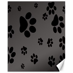 Dog Foodprint Paw Prints Seamless Background And Pattern Canvas 16  X 20   by BangZart