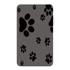Dog Foodprint Paw Prints Seamless Background And Pattern Memory Card Reader