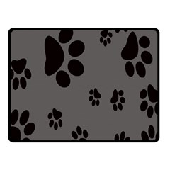Dog Foodprint Paw Prints Seamless Background And Pattern Fleece Blanket (small) by BangZart