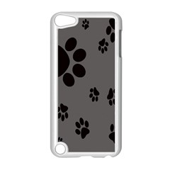 Dog Foodprint Paw Prints Seamless Background And Pattern Apple Ipod Touch 5 Case (white) by BangZart