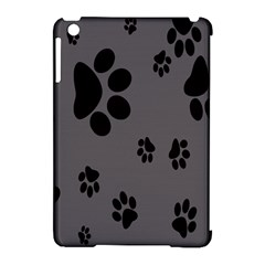 Dog Foodprint Paw Prints Seamless Background And Pattern Apple Ipad Mini Hardshell Case (compatible With Smart Cover) by BangZart