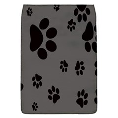 Dog Foodprint Paw Prints Seamless Background And Pattern Flap Covers (s)  by BangZart