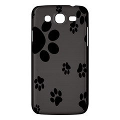 Dog Foodprint Paw Prints Seamless Background And Pattern Samsung Galaxy Mega 5 8 I9152 Hardshell Case  by BangZart