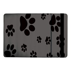 Dog Foodprint Paw Prints Seamless Background And Pattern Samsung Galaxy Tab Pro 10 1  Flip Case by BangZart