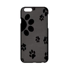 Dog Foodprint Paw Prints Seamless Background And Pattern Apple Iphone 6/6s Hardshell Case by BangZart