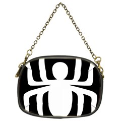 White Spider Chain Purses (one Side)