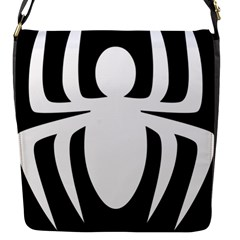 White Spider Flap Messenger Bag (s) by BangZart