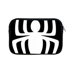 White Spider Apple Ipad Mini Zipper Cases