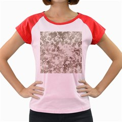 Wall Rock Pattern Structure Dirty Women s Cap Sleeve T Shirt by BangZart