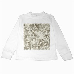 Wall Rock Pattern Structure Dirty Kids Long Sleeve T Shirts