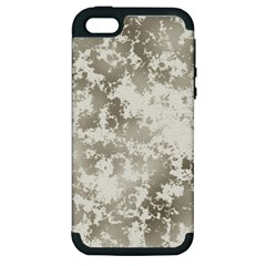 Wall Rock Pattern Structure Dirty Apple Iphone 5 Hardshell Case (pc+silicone) by BangZart