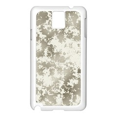 Wall Rock Pattern Structure Dirty Samsung Galaxy Note 3 N9005 Case (white) by BangZart