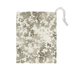 Wall Rock Pattern Structure Dirty Drawstring Pouches (large)
