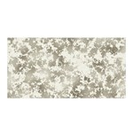 Wall Rock Pattern Structure Dirty Satin Wrap Front