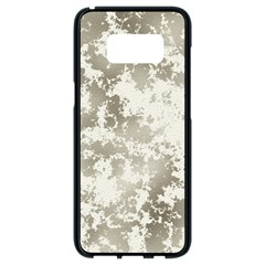 Wall Rock Pattern Structure Dirty Samsung Galaxy S8 Black Seamless Case