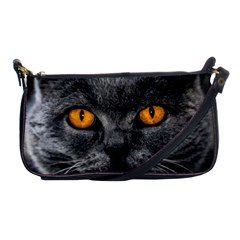 Cat Eyes Background Image Hypnosis Shoulder Clutch Bags by BangZart