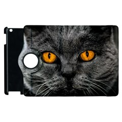 Cat Eyes Background Image Hypnosis Apple Ipad 3/4 Flip 360 Case by BangZart