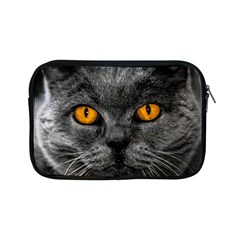 Cat Eyes Background Image Hypnosis Apple Ipad Mini Zipper Cases by BangZart