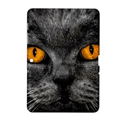 Cat Eyes Background Image Hypnosis Samsung Galaxy Tab 2 (10 1 ) P5100 Hardshell Case