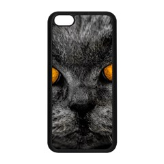 Cat Eyes Background Image Hypnosis Apple Iphone 5c Seamless Case (black)