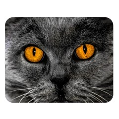 Cat Eyes Background Image Hypnosis Double Sided Flano Blanket (large)  by BangZart