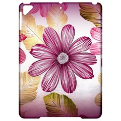 Flower Print Fabric Pattern Texture Apple Ipad Pro 9 7   Hardshell Case by BangZart