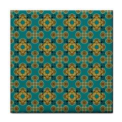 Vintage Pattern Unique Elegant Tile Coasters