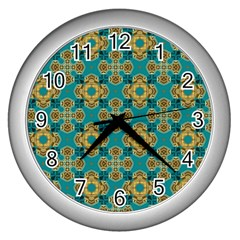 Vintage Pattern Unique Elegant Wall Clocks (silver)  by BangZart
