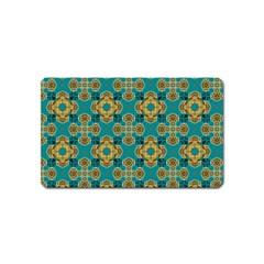 Vintage Pattern Unique Elegant Magnet (name Card)