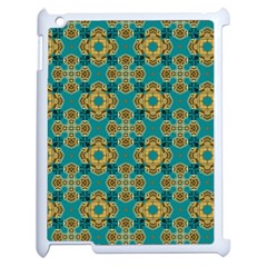 Vintage Pattern Unique Elegant Apple Ipad 2 Case (white) by BangZart