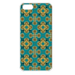 Vintage Pattern Unique Elegant Apple Iphone 5 Seamless Case (white) by BangZart