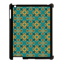 Vintage Pattern Unique Elegant Apple Ipad 3/4 Case (black)