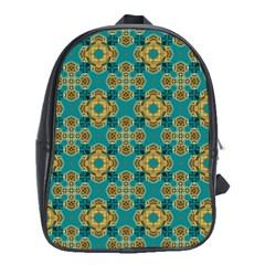 Vintage Pattern Unique Elegant School Bags (xl)  by BangZart
