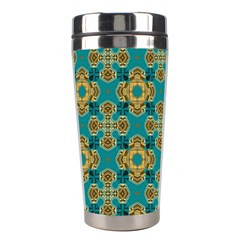 Vintage Pattern Unique Elegant Stainless Steel Travel Tumblers by BangZart