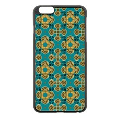 Vintage Pattern Unique Elegant Apple Iphone 6 Plus/6s Plus Black Enamel Case by BangZart