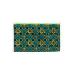 Vintage Pattern Unique Elegant Cosmetic Bag (xs) by BangZart