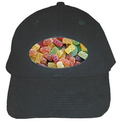 Jelly Beans Candy Sour Sweet Black Cap by BangZart