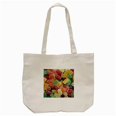 Jelly Beans Candy Sour Sweet Tote Bag (cream) by BangZart
