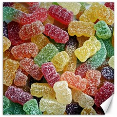 Jelly Beans Candy Sour Sweet Canvas 12  X 12
