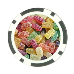 Jelly Beans Candy Sour Sweet Poker Chip Card Guard