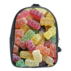 Jelly Beans Candy Sour Sweet School Bags(large)  by BangZart