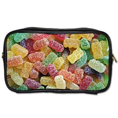 Jelly Beans Candy Sour Sweet Toiletries Bags 2 Side by BangZart