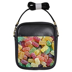 Jelly Beans Candy Sour Sweet Girls Sling Bags by BangZart
