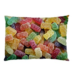 Jelly Beans Candy Sour Sweet Pillow Case (two Sides) by BangZart