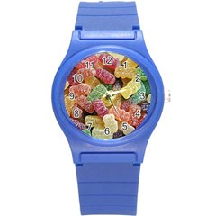 Jelly Beans Candy Sour Sweet Round Plastic Sport Watch (s) by BangZart