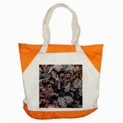 Leaf Leaves Autumn Fall Brown Accent Tote Bag by BangZart