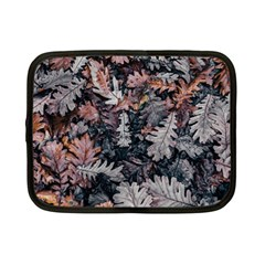 Leaf Leaves Autumn Fall Brown Netbook Case (small)