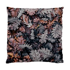 Leaf Leaves Autumn Fall Brown Standard Cushion Case (two Sides) by BangZart