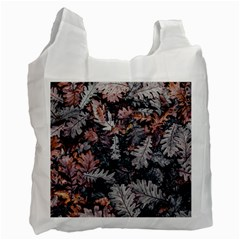 Leaf Leaves Autumn Fall Brown Recycle Bag (two Side)  by BangZart